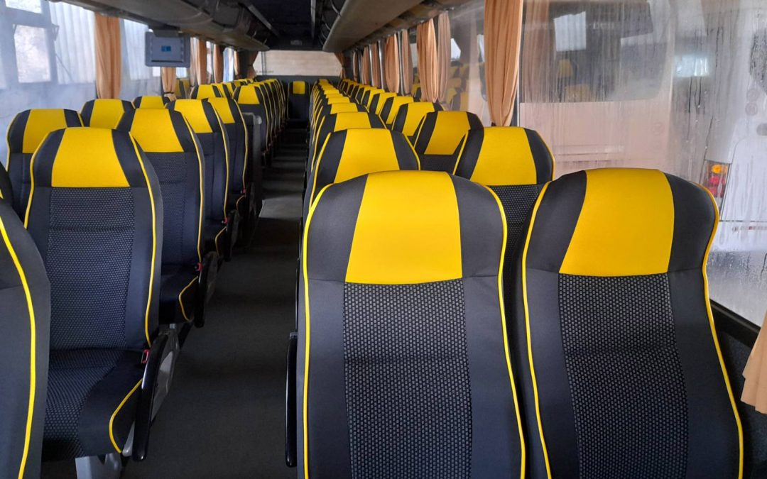 Osvežen enterijer autobusa Bova VDL